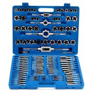 110 PC TAP AND DIE SET METRIC HAND THREADING TOOL TUNGSTEN CARBIDE  SCREW THREAD MAKING - 110_pc_tap_and_die_set_metric_hand_threading_tool_tungsten_carbide_screw_thread_making.jpg