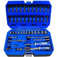 46PC SOCKET WRENCH SET WITH RATCHET 1/4'  TORX HOGERT GERMANY - 46pc_socket_wrench_set_with_ratchet_torx_hogert_germany.jpg