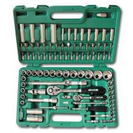 94PCS RATCHET SOCKET SET 1/2 1/4 TOOLS WRENCHES HONITON  - honiton-tools-set-94-pcs-14-12.jpg
