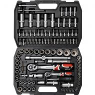Ratchet wrenches socket set 1/2'' 1/4'' 108 pcs YT-3879 - ratchet_socket_set_108_pcs_as-drive.jpg